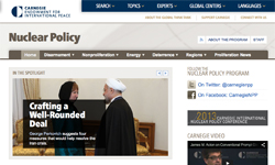 Carnegie Endowment for International Peace - Nuclear Policy Program