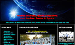 Global Network Against Weapons and Nuclear Power in Space