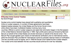 Nuclear Arms Control Treaties