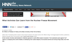 Nuclear Freeze Movement - What Activists Can Learn From Nuclear Freeze Movement