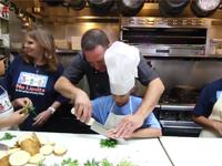 chef darren the challenge of profound deafness